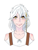 Head Shot #1- Shelly Laurence (NOT MY OC) by LucyHeartfilia77