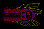 Spellwing777 Logo by SolarDragon