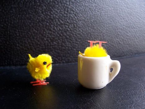 chick adventures_ cup of tea by dragorien
