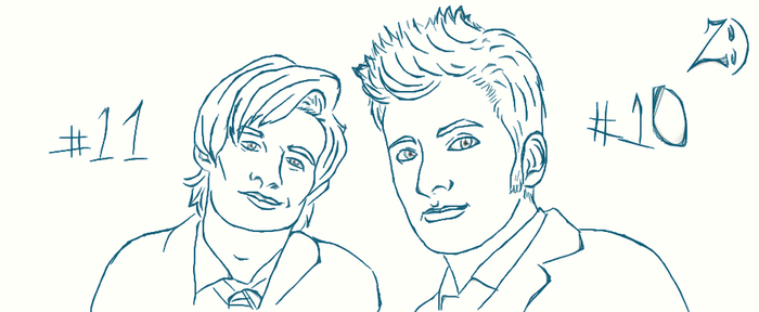 David and Matt by ZannaCox