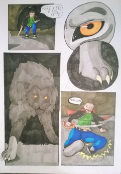 Meeting The Beast Lord pg4 by BethH1994