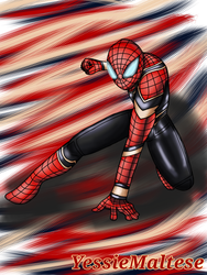 Iron Spider Man (Request) by YessieMaltese