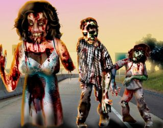 Zombie Interstate part 1 by shaggydope
