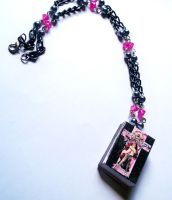 Death Note Mini Manga Necklace by prheat