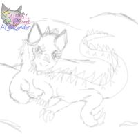 Scar face relaxing ( Unfinish quick sketch) by AngelCnderDream14