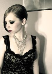 Pearls and Laces by NoctemPhotography