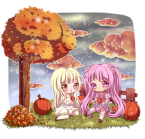 C: Pumpkin Picking by KirasElixir