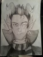I keep drawing Eridan by CreepCreampuff