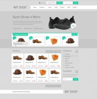 ecommerce theme by prkdeviant