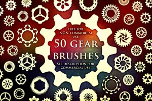 50 Gear Brushes by XResch