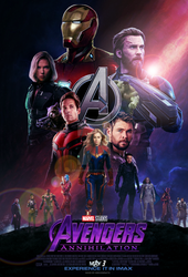 Avengers Annihilation movie poster by ArkhamNatic