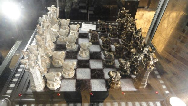 HP Chess Game - Harry Potter London WB Studio by lv888