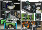 Spartanauts Adventures Comic Pages 9 and 10 by Adam-Clowery