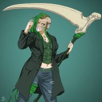 Putrescence (Earth-27) OC commission by phil-cho