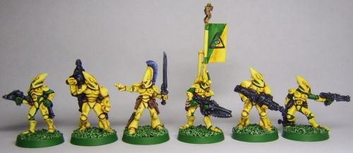 Rogue Trader: Void Watchers Eldar Squad by FraterSINISTER