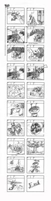 Bee on the Beach - Storyboard by Hominids