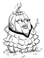 Inktober 10-16-2015 Pumpkin Spice by carriehowarth