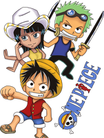 One Piece Chibis by SonGohan10