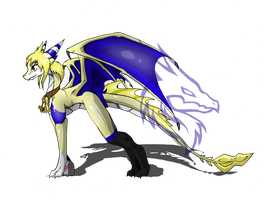 Lucy the Dragon by RobynTheDragon