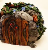 Fairy House by FlyingFrogCreations