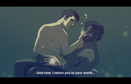 DH Pirate AU: I return you to your world by coupleofkooks