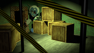 NightmarePhoto Negative Mickey in the storage room by Photo-NegativeMickey