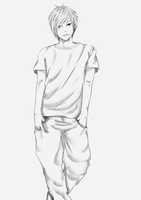 quick Mitsuo sketch by sylwiaiiwo