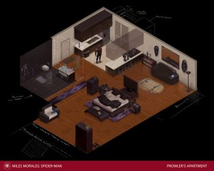 Prowler Apartment by DanielAraya
