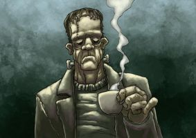 kaffe 04 frankenstein by Drago-the-Dark-Klown