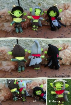 Goblin Doll Collection by Windmaedchen