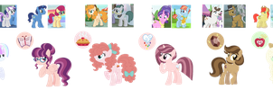 ParentSwap Mane Six by Strawberry-Spritz