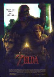 Zelda Movie Poster 2.0 by super-fergus