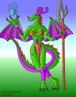 venus the dragoness by tcarter43