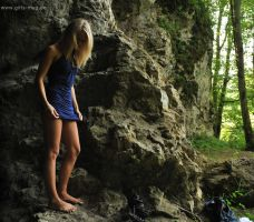 Cave Girl by Val-Mont