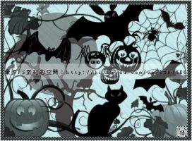 Halloween brushes2 by coolwing
