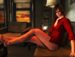 Resident evil wallpaper - Ada Wong 3 by ethaclane