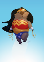 @sketch_dailies 06-09-15 Wonderwombat by Corey-Smith