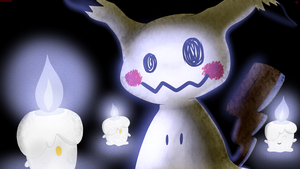 Mimikyu and Friends by Spyke-The-Artist