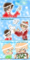 The twelve days of Christmas (part 2) by Miryam123