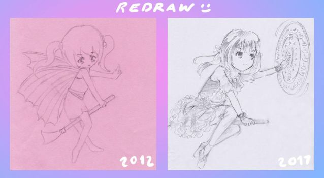 Redraw by LittleSpringroll