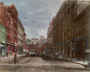 Union Ave and Union Depot 1902 by PhotosbyRaVen