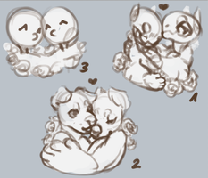 Multispecies YCH [closed] by llEttell