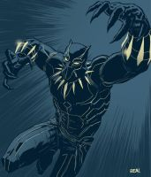 Black Panther by Fuacka