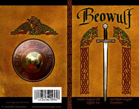 Beowulf - Book Cover by whitefantom