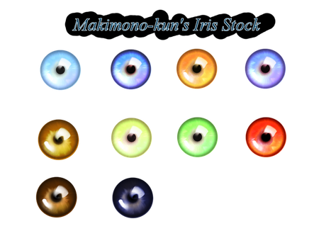 Iris Stock by Makimono-kun