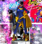 Batgirl Cosplay Costume for V4 and A4 by Terrymcg