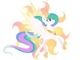 Princess Celestia by PrinceSketchy