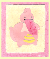 Paper Lickilicky