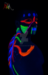 Blacklight Warrior by Askmaer
