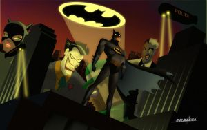 Batman The Animated Series by Ekaleva